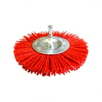 Josco 100mm Abrasive Nylon Wheel Brush
