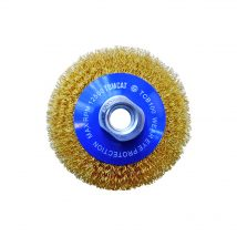 Tomcat 100mm Multi-Thread Crimped Bevel Brush