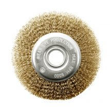 Tomcat 150mm x 12mm Multi-Bore Crimped Wheel Brush