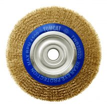 Tomcat 200mm x 20mm Multi-Bore Crimped Wheel Brush