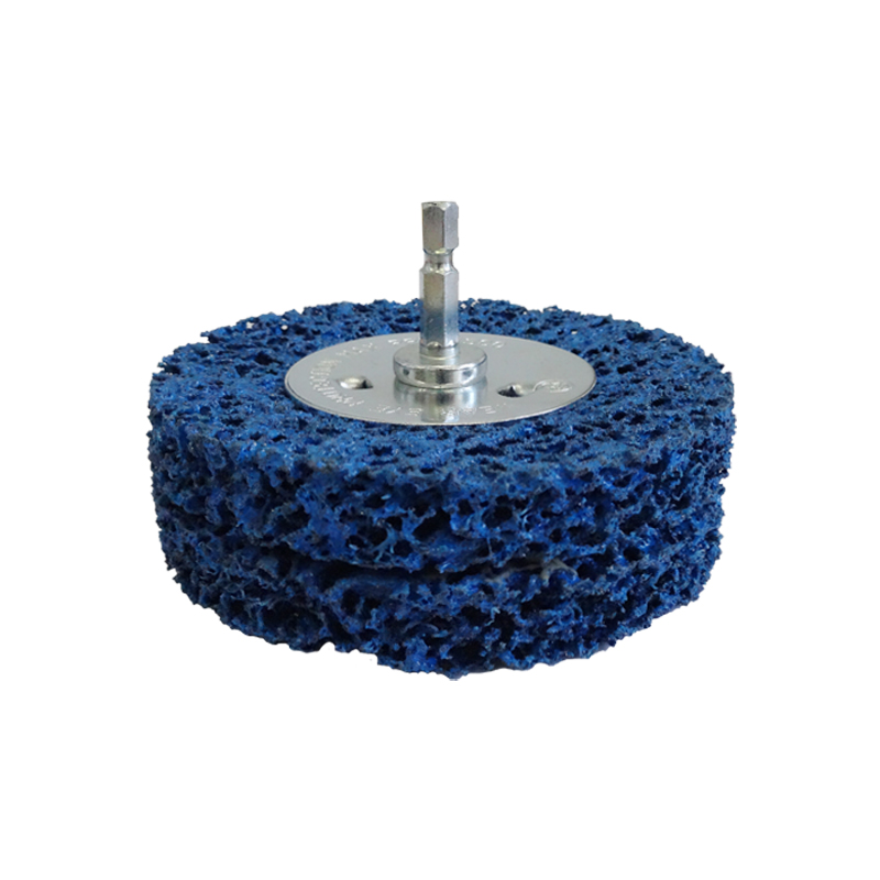 Brumby 100mm Spindle Mounted Strip It Wheel 2 Sections
