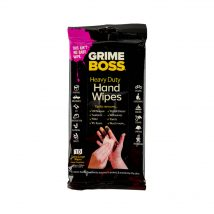Grimeboss Heavy Duty Hand Wipes 10 Pack