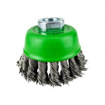 Brumby 75mm Stainless Steel Twistknot Cup Brush