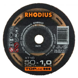 Rhodius 50mm Cutting Disc XT10 Mini