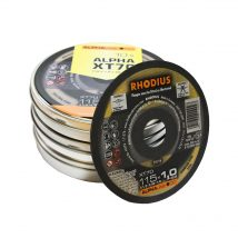Rhodius 115mm Cutting Disc XT70 10 Pack