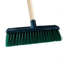 35cm Landscape Broom with Handle