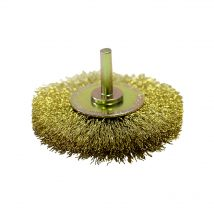 Josco 80mm x 15mm Brass High Speed Decarbonising Brush