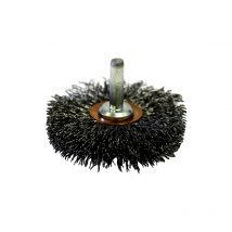 Josco 64mm High Speed Crimped Wheel Brush