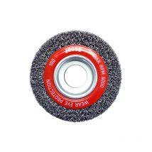 Josco 100mm x 25mm Multi-Bore Crimped Wheel Brush