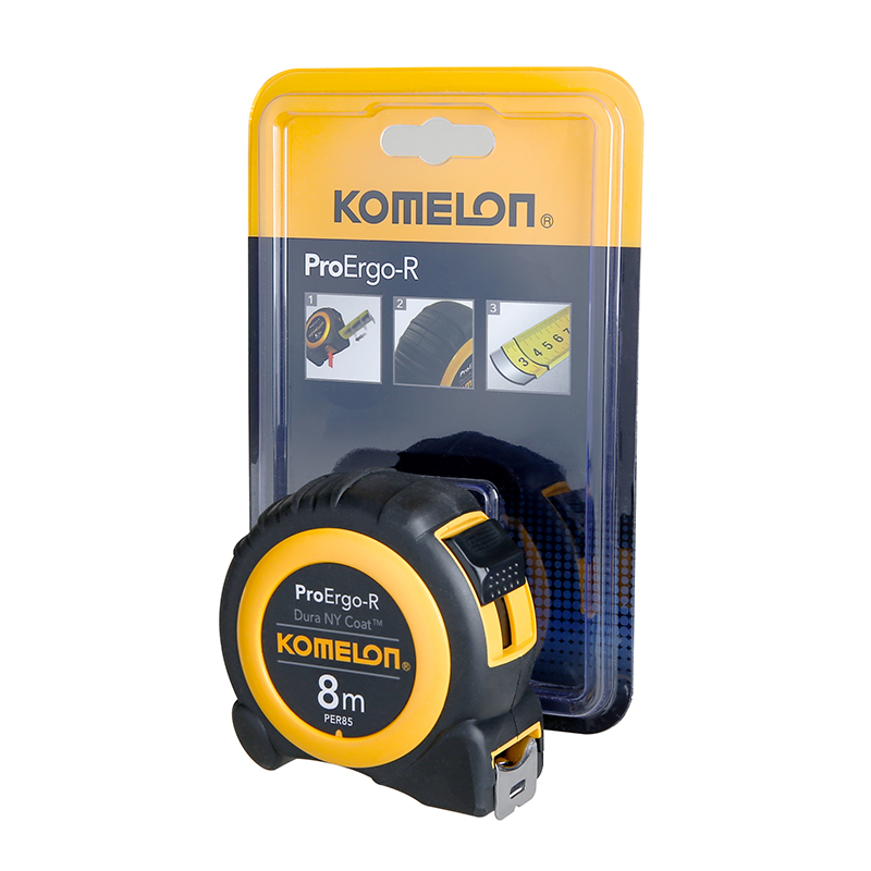 Komelon 8m x 19mm ProErgo-R Power Tape Pack