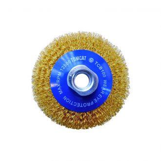 Tomcat 100mm Multi-Thread Crimped Bevel Brush
