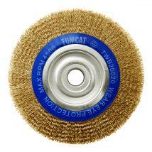 Tomcat 200mm x 20mm Multi-Bore Crimped Wheel Brush