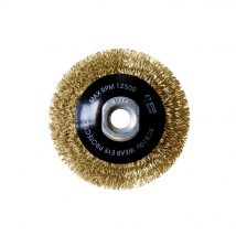 Brumby 100mm Crimped Multi-Thread Bevel Brush