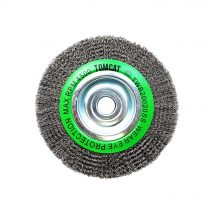 tomcat-200mm-crimped-stainless-steel-wheel-brush