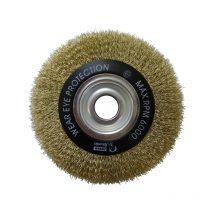 Brumby 150mm x 12mm Crimped Multi-Bore Wheel Brush