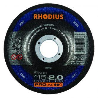 Rhodius 115mm Cutting Disc FTK33