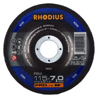 Rhodius 115mm Grinding Disc RS2
