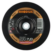Rhodius 230mm Grinding Disc RS480 CERAMICON