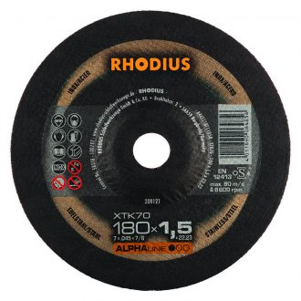 Rhodius 180mm Cutting Disc XTK70