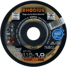 Rhodius 115mm Cutting Disc XT10