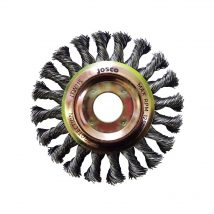Josco 100m x 12mm Multi-Thread Twistknot Wheel Brush