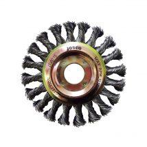 Josco 100m x 12mm Multi-Thread Twistknot Wheel Brush