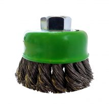 Josco 75mm Stainless Steel Multi-Thread Cup Brush