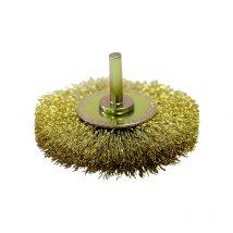 Josco 80mm x 15mm Brass High Speed Decarbonising Brush