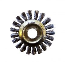 Josco 100mm x 12mm Multi-Bore Twistknot Wheel Brush - 0.50mm Wire