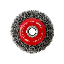Josco 75mm x 16mm Crimped Wheel Brush