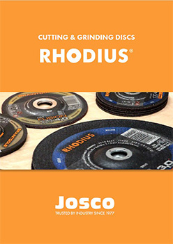 Rhodius Cutting & Grinding Discs Catalogue Cover