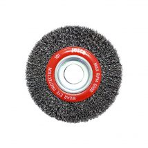125mm x 25mm Multi-Bore Crimped Wheel Brush
