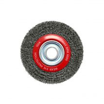 150mm x 12mm Multi-Bore Crimped Wheel Brush
