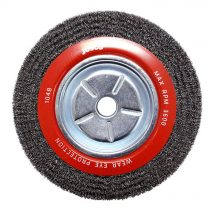 Josco 250mm x 38mm Crimped Wheel Brush