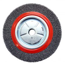 Josco 300mm x 50mm Crimped Wheel Brush