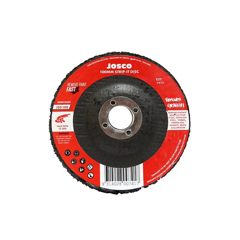 Josco XHD 100mm Strip-It Disc