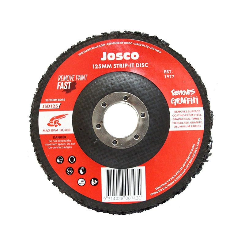 New, now lasts longer and cuts faster than conventional Strip-It Discs.